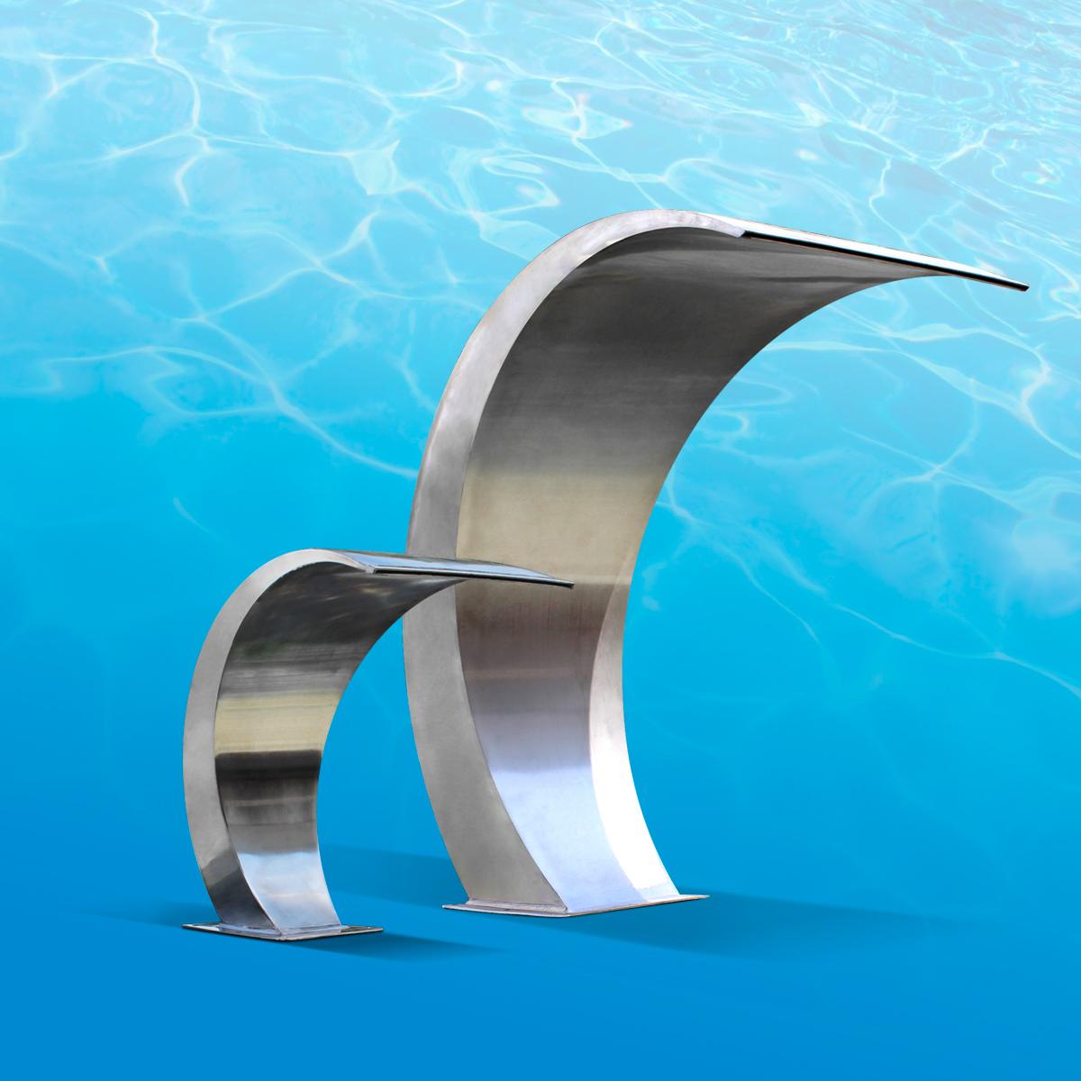 Accesorios de decoraci n y confort para piscinas o piletas for Accesorios para piscinas cascadas