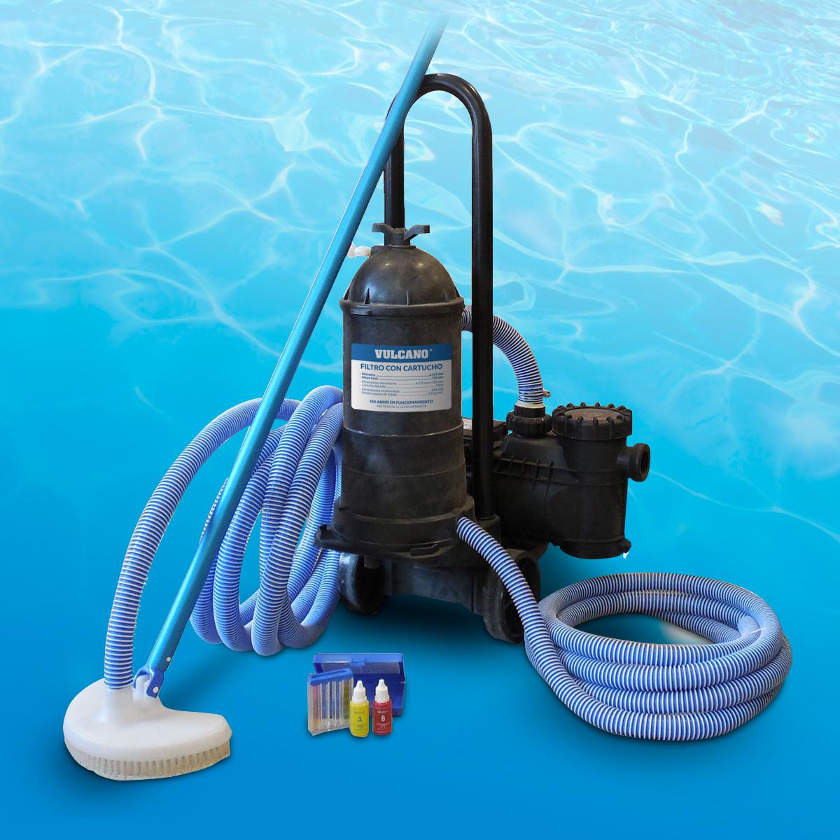 Filtros para piscinas o piletas de nataci n for Piscinas pequenas portatiles