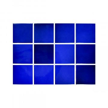 Revestimiento cerámico - Laguna Blue (malla)