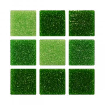 Venecita 2x2 - Mix Verde