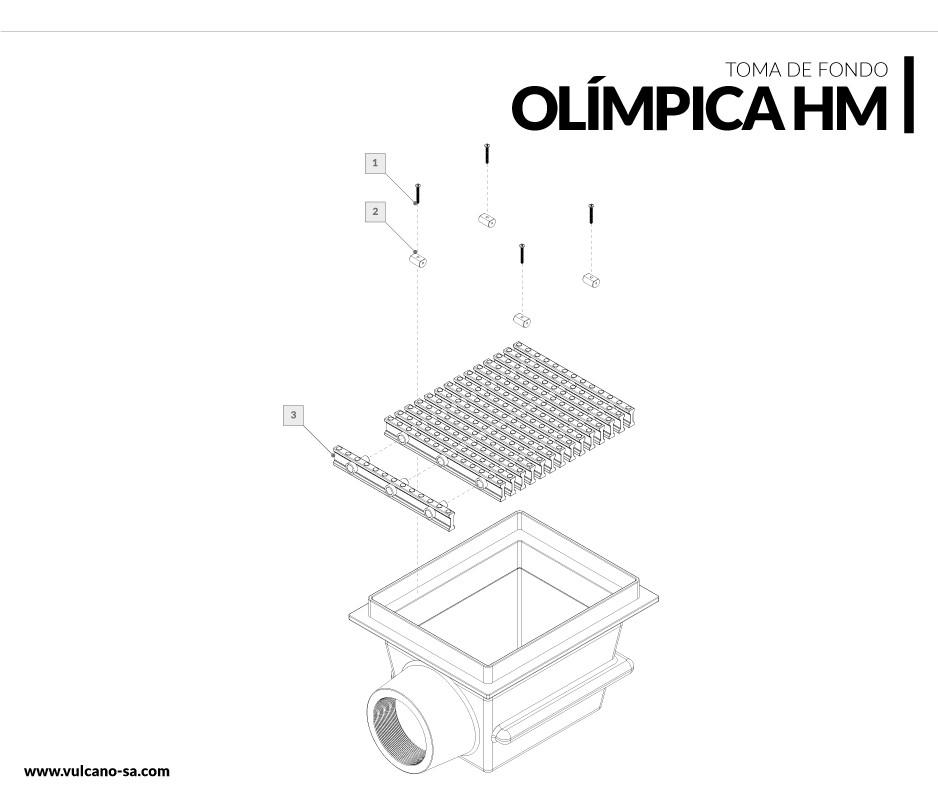 Toma de fondo Piscinas olímpicas