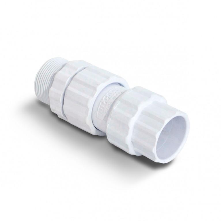 """Acople caño PVC MH ø1 1/2"""" 40"""