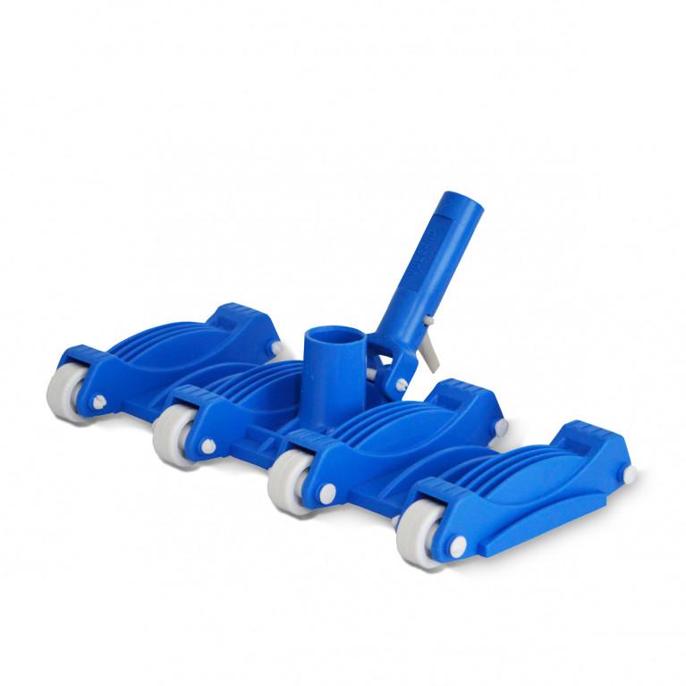 Limpiafondo flexible 8 ruedas