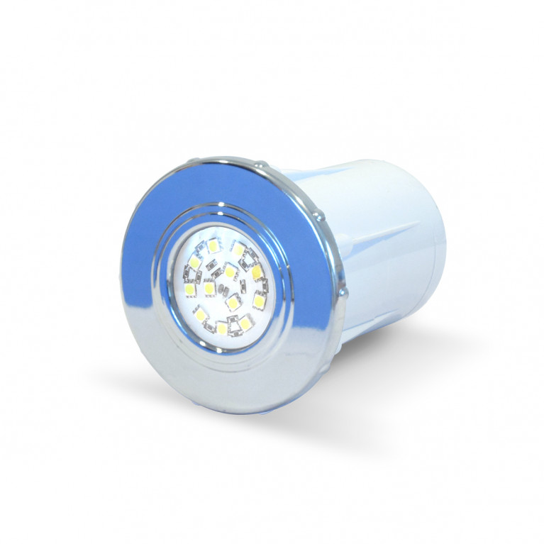 Luminaria spot cromado LED B-12 Horm.
