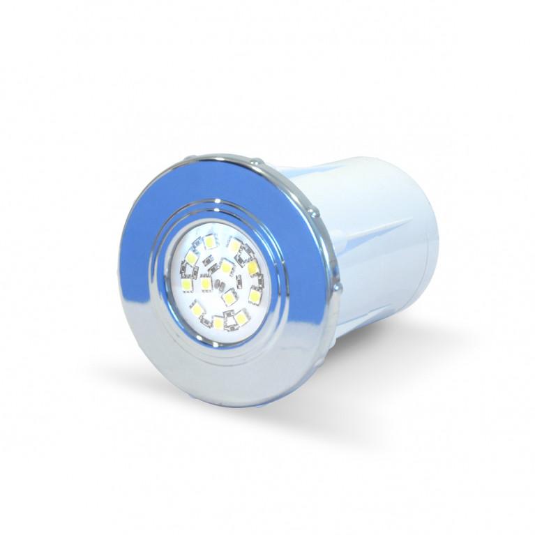 Luminaria spot cromado LED B-12 FV