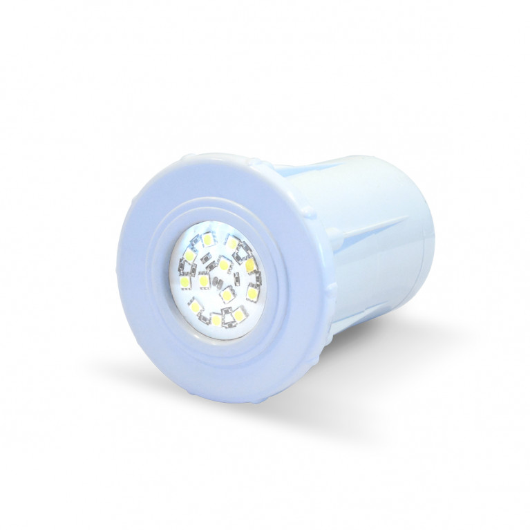 Luminaria spot blanco LED B-12 Horm.