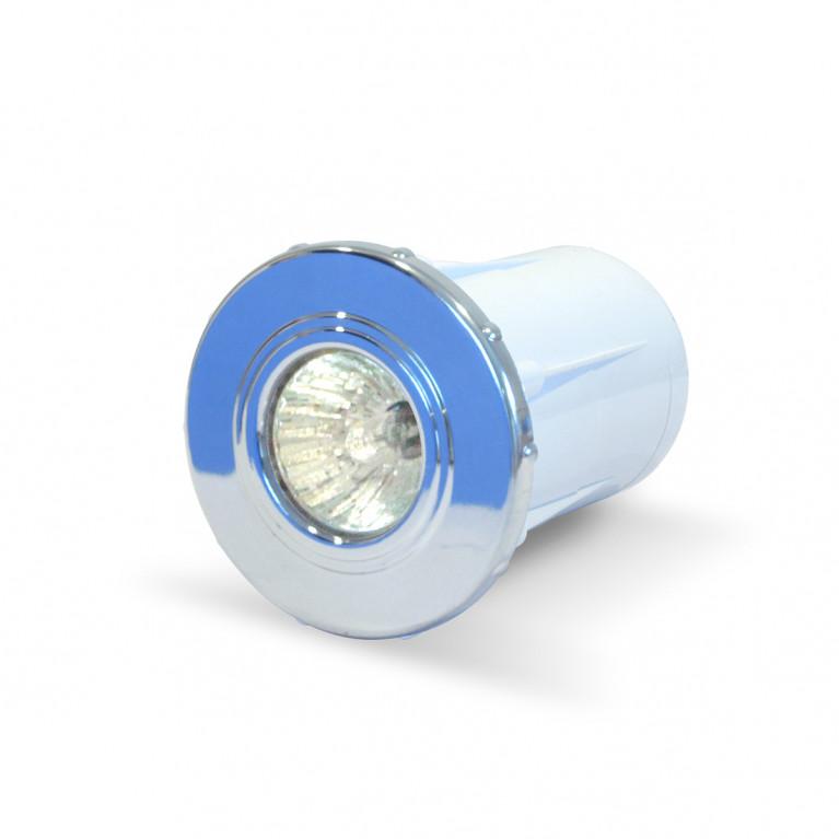 Luminaria spot cromado Dicroica 50W FV