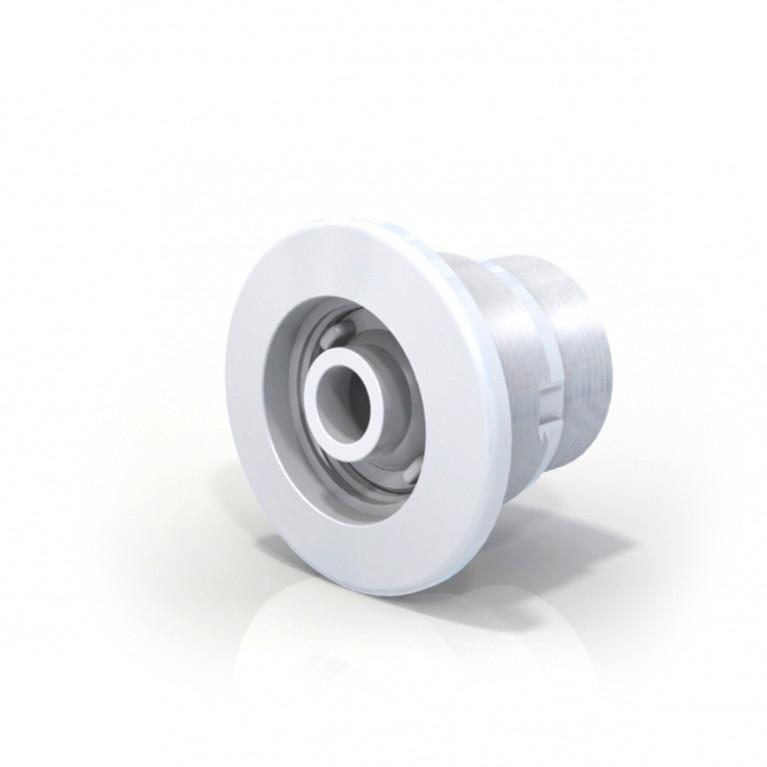 Retorno aro blanco ø 50 mm - Hormigón