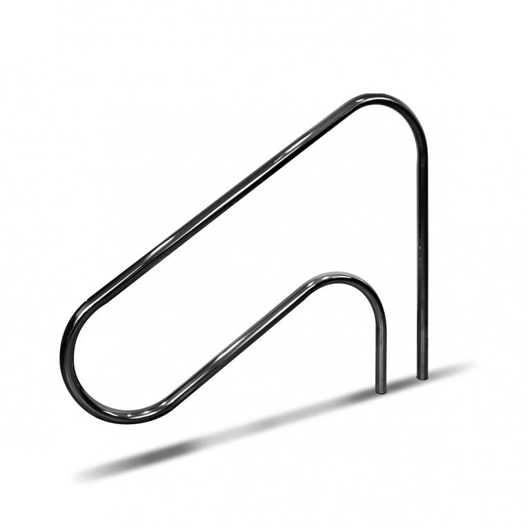 Pasamanos p/escalera largo exterior