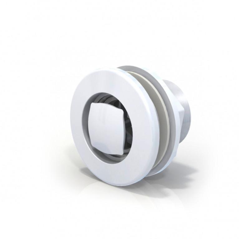 Rebosadero aro blanco RH 1 1/2  - FV