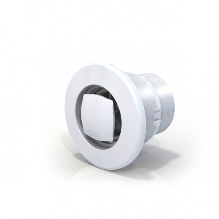 Rebosadero aro blanco RH 1 1/2  - Horm.