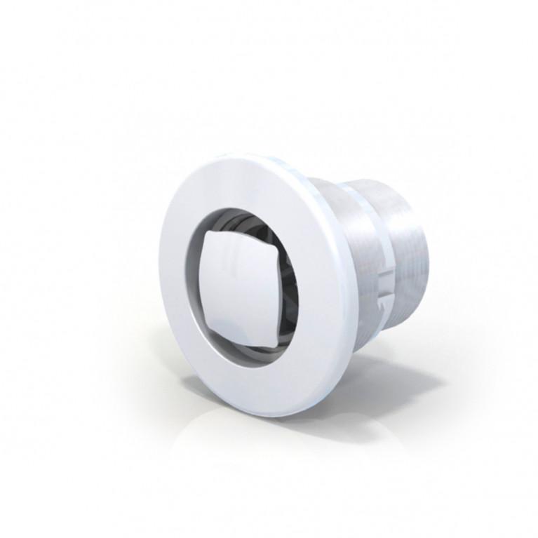 Rebosadero aro blanco ø 50 mm - Horm.