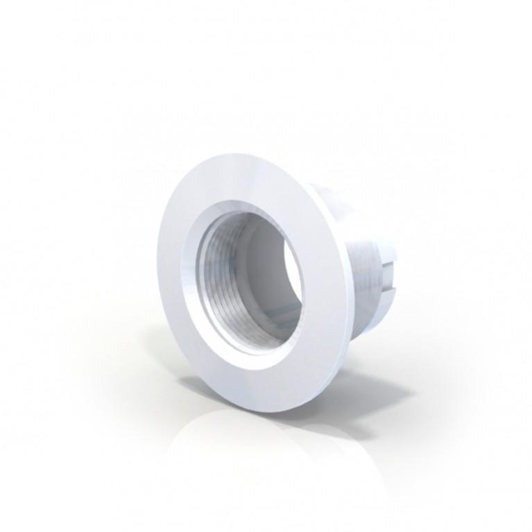 Virola frente blanco ø 50mm - Hormigón