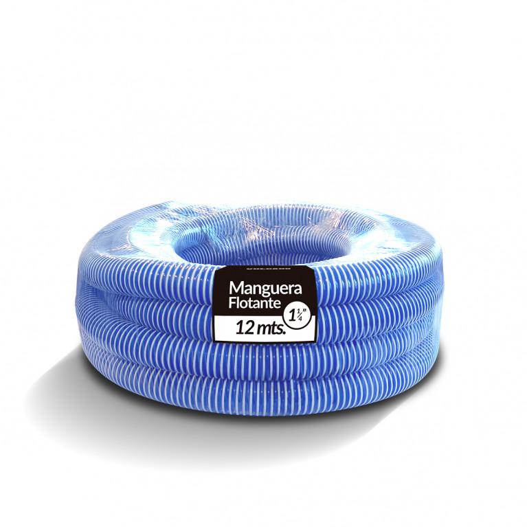 """Manguera flotante 1 1/4"""" - bicolor x 12m"""