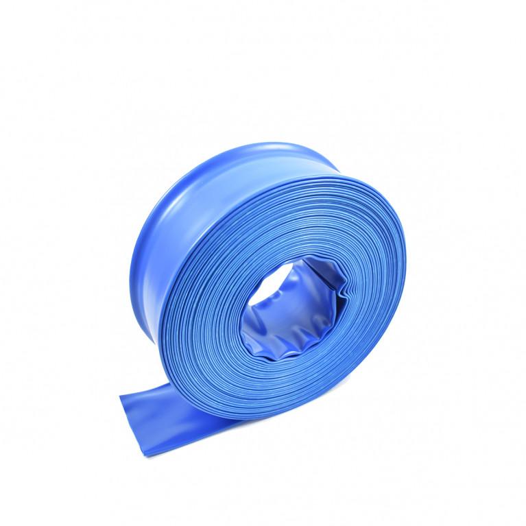 Manguera plana de PVC ø 38mm x 15m (tipo manga)