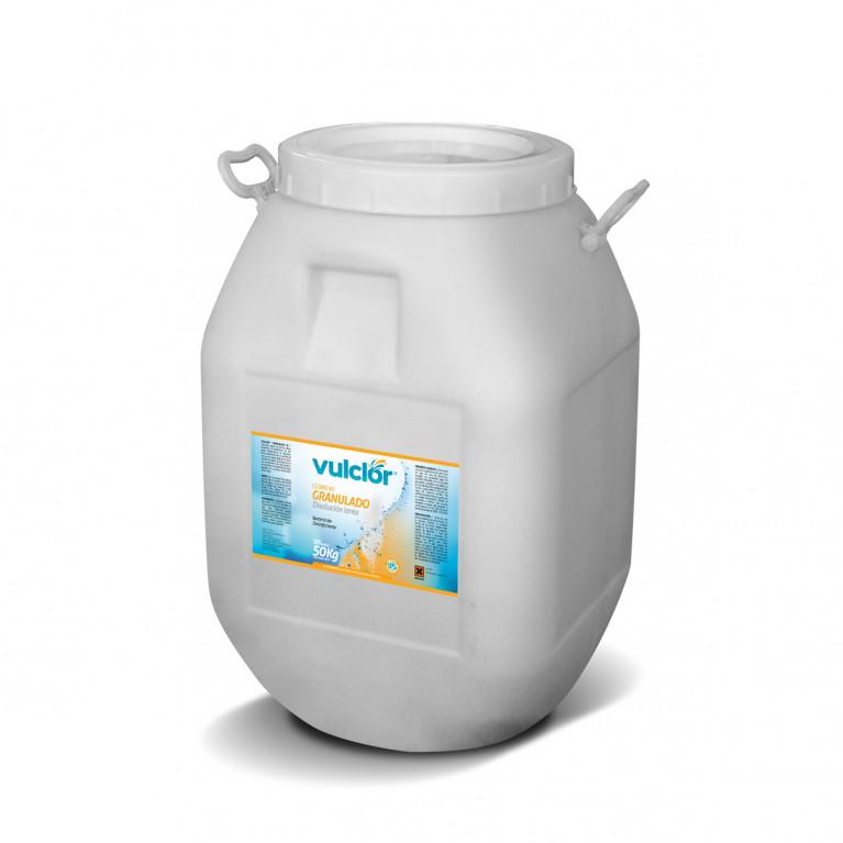 Cloro 90 granulado - Disolución lenta (50 kg)