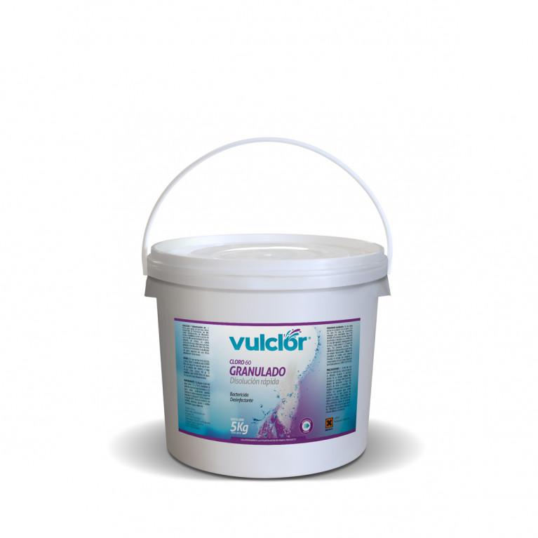 Cloro 60 granulado - Disolución rápida (5 KG)