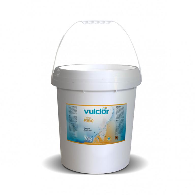 Cloro 90 en polvo - Disolución lenta (20 kg)