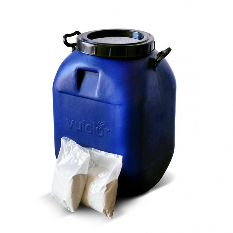 Cloro 60 granulado - Disolución rápida (45 x 1 KG)