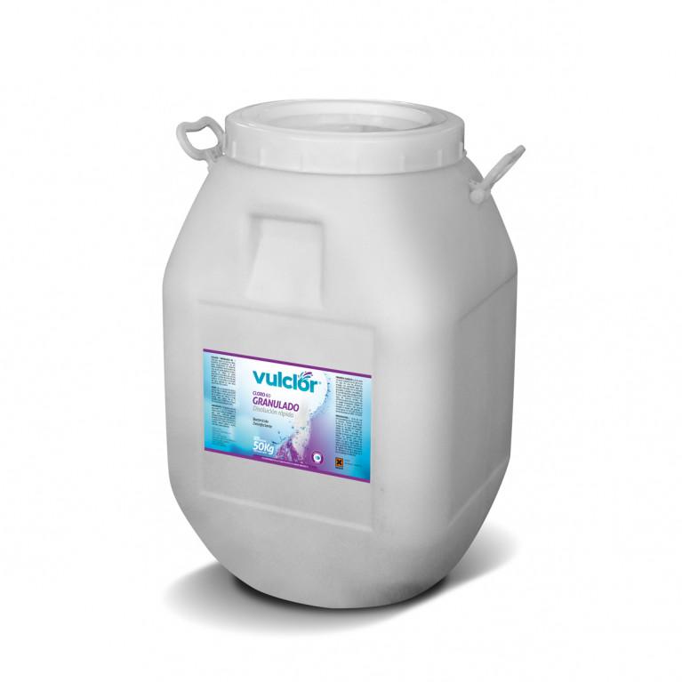 Cloro 60 granulado - Disolución rápida (50 KG)