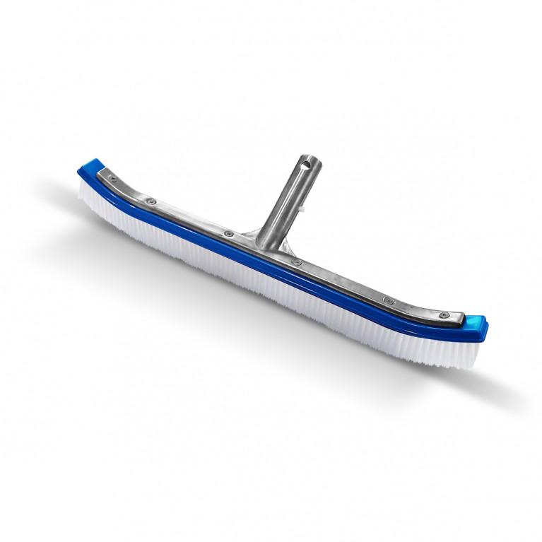Cepillo curvo soporte metálico (Nylon)