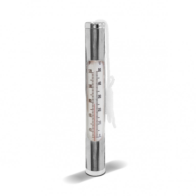 Termómetro sumergible cilíndrico