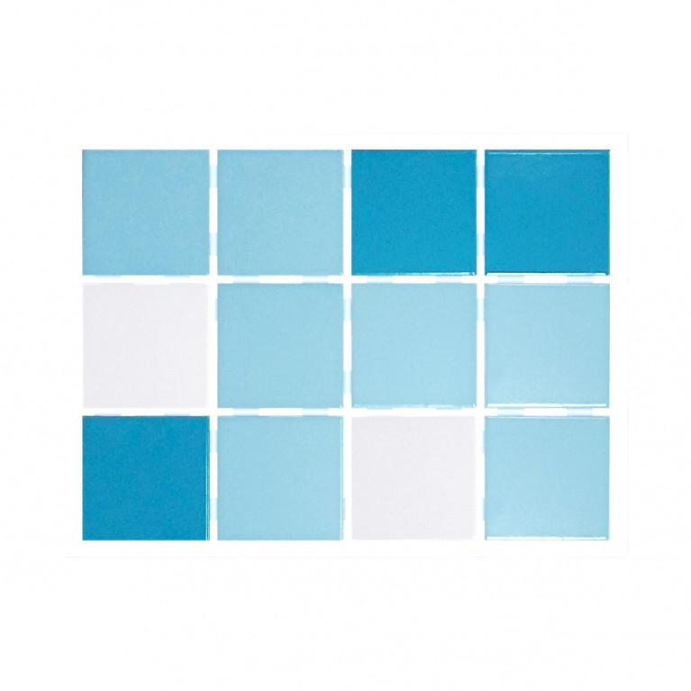 Revestimiento cerámico - Mix Azul claro