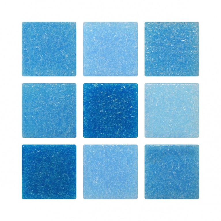 Venecita 2x2 - Mix Azul claro